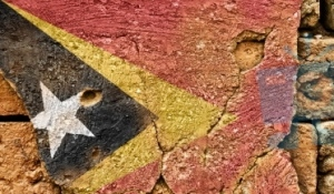 East Timor Grunge Flag, powerful symbol of a quarter of a century's resistance. Image courtesy of domdean/FreeDigitalPhotos.net