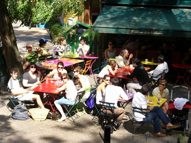 Completely gratuitous image of Montmartre Cafe Life to keep the blog staasi at bay. Image by ktylerconk
